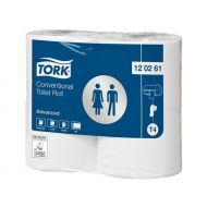 Tork Advanced toiletpap King-Size 2-lgs wit 69mtr x 10cm pk à 24rol/500 vel (120261)