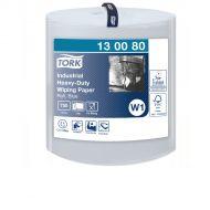 Tork Industrial Heavy-Duty Poetspapier Blauw W1, 1 x 750 vellen (130080)