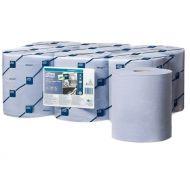 Tork Reflex Wiping Plus Centerfeed, Poetspapier, 2lgs, blauw, pak à 6 rol (473391)