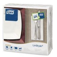 Tork 478145 Linstyle servet wit 39x39cm 1/8 vouw, ds à 600stuks (478145)