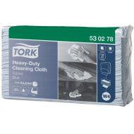 Tork Premium 530 werkdoek 1-lgs blauw 43x39 doos à 5 pak/100 vel (530278)
