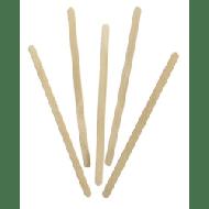Roerstaafjes hout 10x1000stuks 14cm (444695-10)