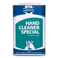 Americol Hand cleaner special tbv industriële vervuiling in blik Blauw 4x4.5Liter (407155)
