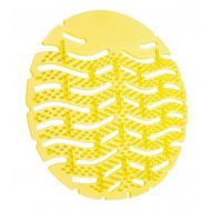Urinoir rubberen matten 10stuks uni lemon geel (497412)