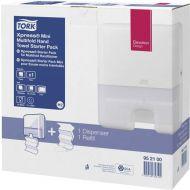 Handdoekdispenser TORK Xpress Starter Pack 952100 Premium Tork H2 (1st dispenser, 1pk refill) (952100)