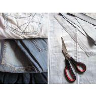 Poetsdoeken P21210 bont van jeans en spijkerstof 10kg (P21210)