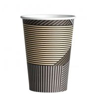 Drinkbeker of koffiebeker karton Lines 330cc Coffee to go cup 1000stuks (133321)