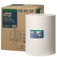 Tork Premium poetsdoek, wit non-woven, 530 Combi Roll, W1/W2/W3, 280 vel/rol (530137)