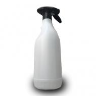 Sprayflacon met sprayer en schaalverdeling 1liter compleet transparant (605100)