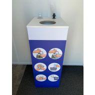 10% korting Desinfectie reinigingsstation meubel multiplex 500mm x 400mm x 1000mm  (501700)